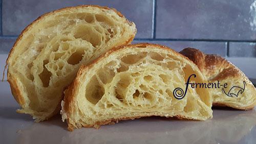 croissant sfogliato lievito madre montersino fermente
